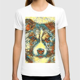 AnimalArt_Dog_20170902_by_JAMColorsSpecial T-shirt