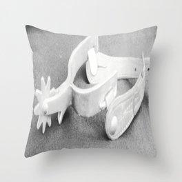 Grandpa's Spur 2 Throw Pillow