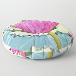The Water Lily Floor Pillow