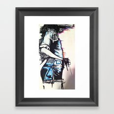 Thinking Of Framed Art Print