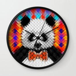 Geo Panda Wall Clock