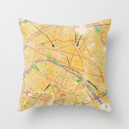 Another Paris Throw Pillow