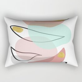 Modern minimal forms 15 Rectangular Pillow