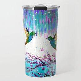 Hummingbirds in the Storm Travel Mug