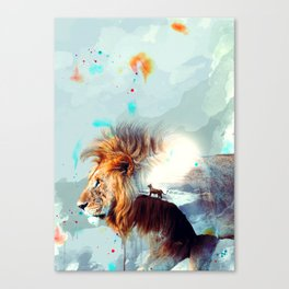 The Majestic Canvas Print