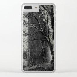 Silos B&W Clear iPhone Case