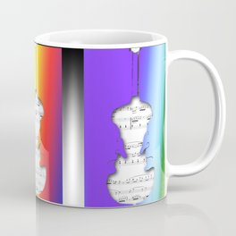 Facing Guitar Coffee Mug
