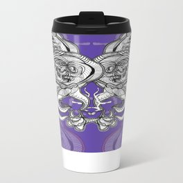 Mask 3 Metal Travel Mug