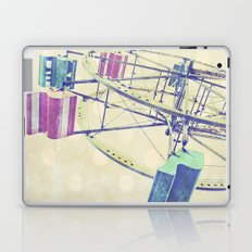 Nice Day for a Ferris Wheel Ride ... Laptop & iPad Skin