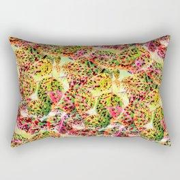 Leaves in the Autumn Rainbow Rectangular Pillow