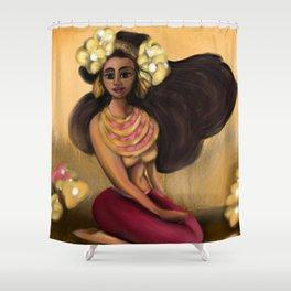 Hoola Rosa Shower Curtain