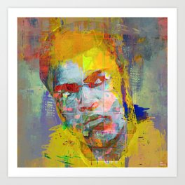 Le boxeur 2 Art Print