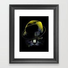 The Alley Cat Framed Art Print