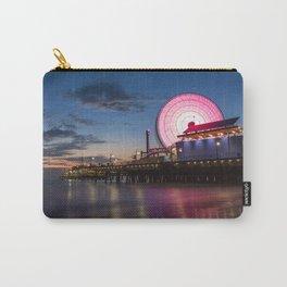 Santa Monica Pier - Pacific Park Carry-All Pouch
