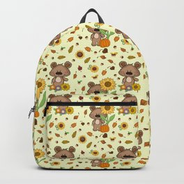 SUNFLOWER BEAR Backpack