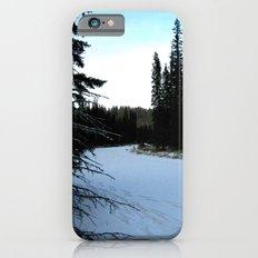 Wintertime in WaterValley iPhone 6s Slim Case