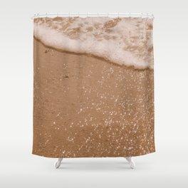 Sparkling Coco Beach Shower Curtain