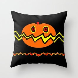 Citrouille 02 Throw Pillow