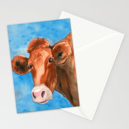 Red Heifer Stationery Cards