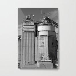 Cemented Metal Print