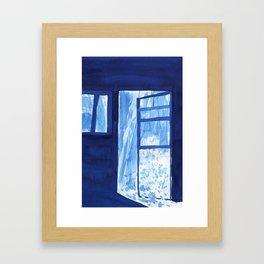 Into the wilderness Framed Art Print