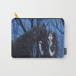 Midnight Travelers Gothic Fairy and Unicorn Carry-All Pouch