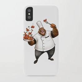 Chef Demetrius Gumbo iPhone Case