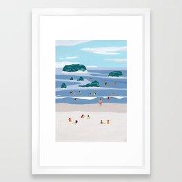 Islands Horizons Framed Art Print
