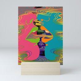 Rainbow Shotgun Mini Art Print