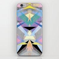 origami iPhone & iPod Skins featuring Origami by Marta Olga Klara