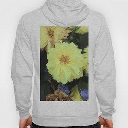Full Yellow Vintage Flower Hoody