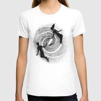 milky way T-shirts featuring Milky Way by Aleksandra Kabakova