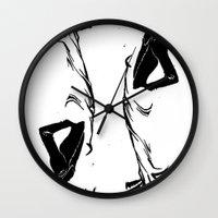 victorian Wall Clocks featuring victorian  by Nancy Blau
