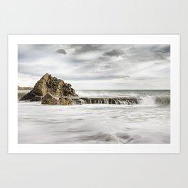 Ocean Sorm 4 Art Print