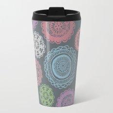 Doily Doodles Travel Mug