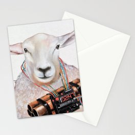 Sheep Fashionista Stationery Cards