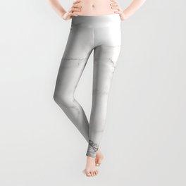 White Marble 006 Leggings