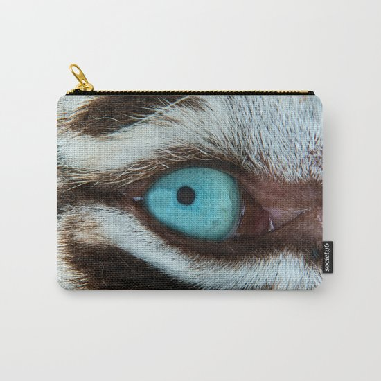 WHITE TIGER BEAUTY Carry-All Pouch