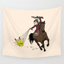 Curious George/Planet of the Apes Wall Tapestry