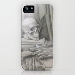 academic drawing iPhone Case