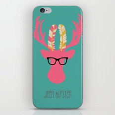 Deer Hipster iPhone & iPod Skin