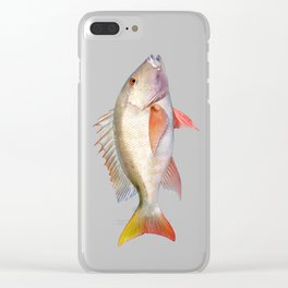 Mutton Snapper Clear iPhone Case