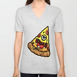 Harmful Pizza Unisex V-Neck