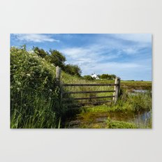 Horsey Island Canvas Print