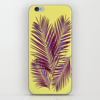 palms iPhone & iPod Skins featuring Palms by  Agostino Lo Coco