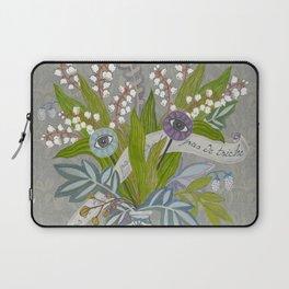 Mystical Flowers Laptop Sleeve