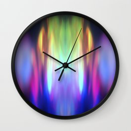 Abstract Moments Wall Clock