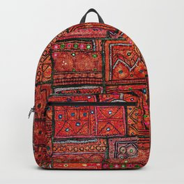 V5 Red Traditional Moroccan Design - A3 Backpack