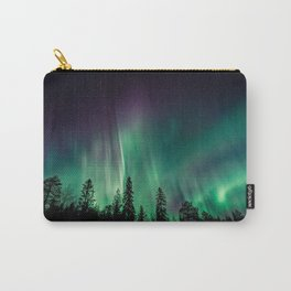Aurora Borealis (Heavenly Northern Lights) Carry-All Pouch
