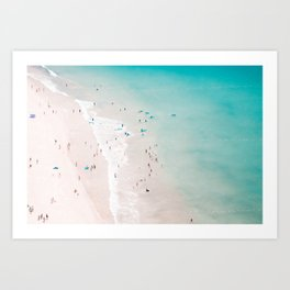 beach - summer love II Art Print